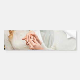 Yuletide Engagement Bumper Sticker