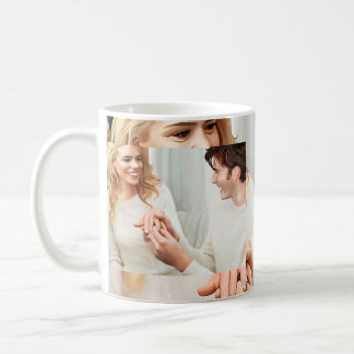 Yuletide Engagement Coffee Mug