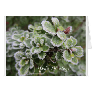 Yuletide Seasons Greeting Card