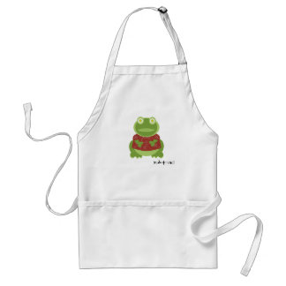 yuletoad in the kitchen standard apron