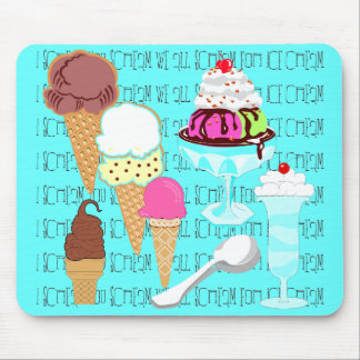 Yum-a-licious Ice Cream Mousepad
