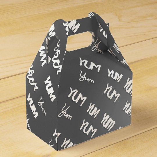 """""""YUM"""" Container Favor Box"""