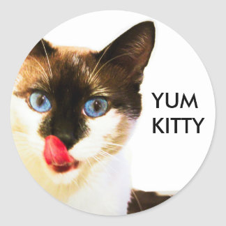 Yum Kitty Sticker