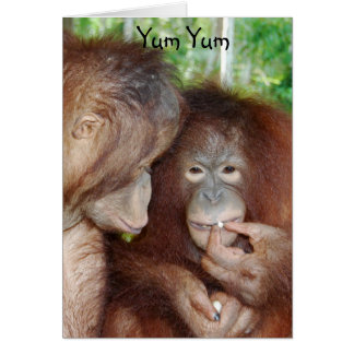 Yum Yum Happy Birthday Treats Card