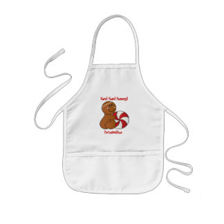 Yum, Yum, Yummy | Gingerbread Man Kids Apron