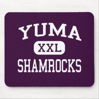 Yuma - Shamrocks - Catholic - Yuma Arizona Mouse Pads