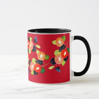 "YUMEJI Camelia mug"" dream two"" camellia magnetic Mug"