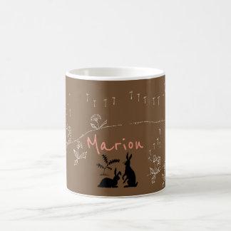 """YUMEJI Dandelion Fluff2 Name mug"""" dream two Coffee Mug"""