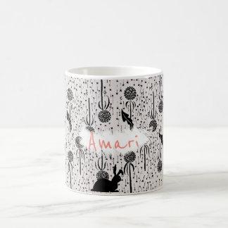 """YUMEJI Dandelion Fluff Name mug"""" dream two Coffee Mug"""