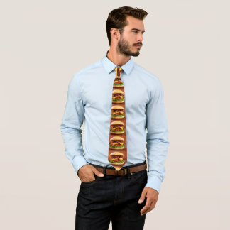 yummy cheeseburger tie