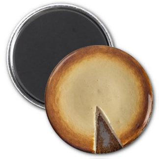 Yummy Cheesecake Food Refrigerator Magnet