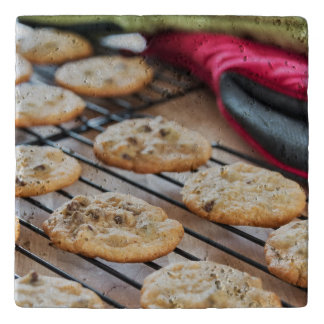 Yummy chocolate chip cookies trivet