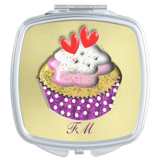 Yummy Cup Cake Mirrors For Makeup