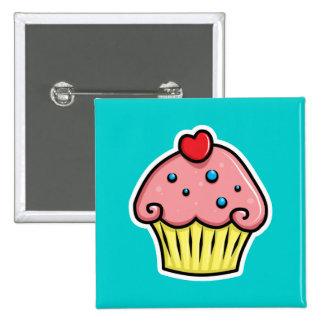 Yummy Cupcakes Button