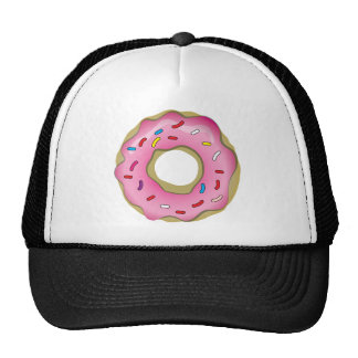 Yummy Donut with Icing and Sprinkles Trucker Hat