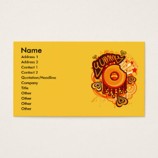 Yummy_Doughnut Business Card