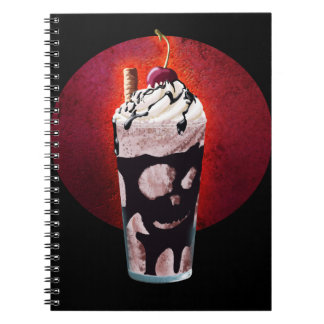 Yummy Drink of Doom Spiral Notebook