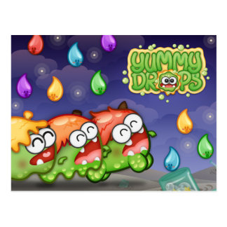 Yummy Drops | Baby Slime Evolutions Postcard