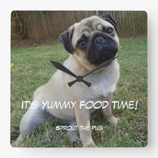 Yummy Food Time Wall Clock