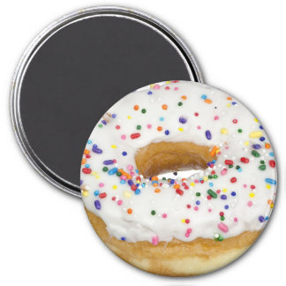 Yummy Frosted Sprinkles Donut Fun Food Magnet