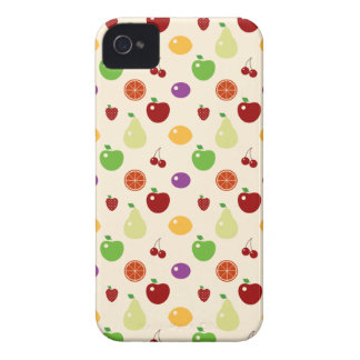 Yummy fruity fruits top chef foodie cherries apple iPhone 4 Case-Mate case