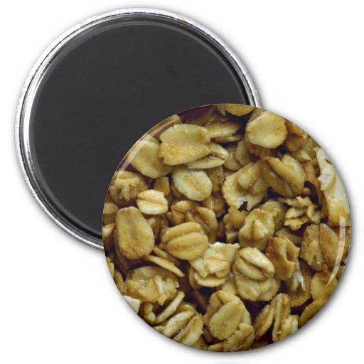 Yummy Granola Refrigerator Magnet