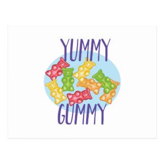 Yummy Gummy Postcard