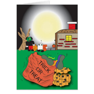 Yummy halloween card