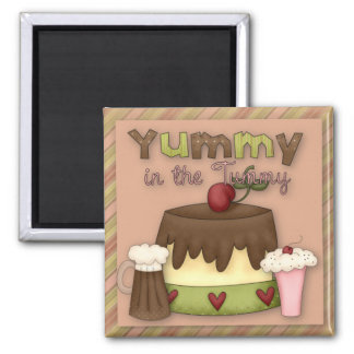 Yummy in the Tummy Sweet Treats Magnet