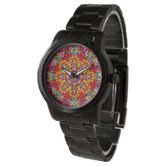 Yummy Kaleidoscope Vintage Mens Watch