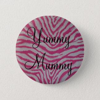 Yummy Mummy 2 Inch Round Button