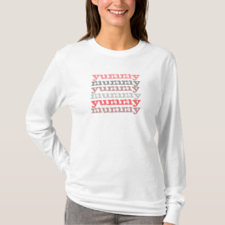 yummy mummy long sleeve tee