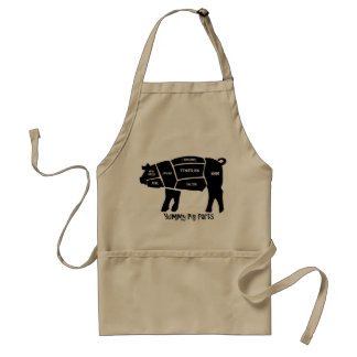 Yummy Pig Parts Standard Apron