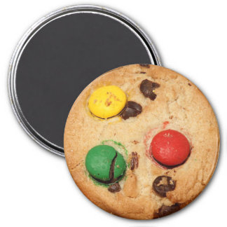 Yummy Realistic Chocolate Candy Cookie Magnet