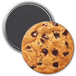 Yummy Realistic Chocolate Chip Cookie Magnet