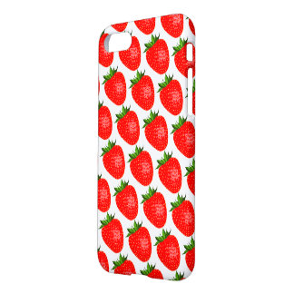 Yummy Red Strawberries IPhone 8/7 Phone Case Cover