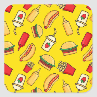 Yummy! Square Sticker