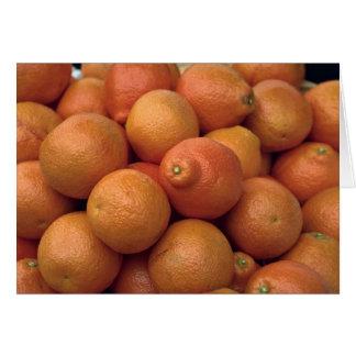 Yummy State-grown oranges Card