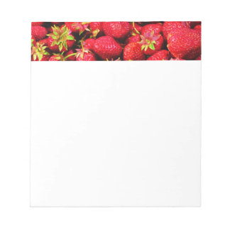 Yummy Strawberries Notepad