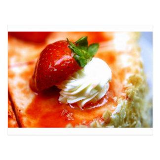 Yummy Strawberry Postcard