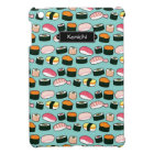 Yummy Sushi Fun Illustrated Pattern Cover For The iPad Mini