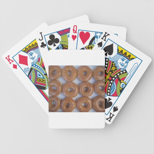 YUMMY SWEET DONUTS BICYCLE PLAYING CARDS