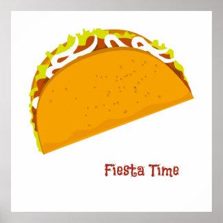 Yummy Taco Fiesta Poster