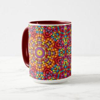 Yummy  Vintage Kaleidoscope  Combo Mug