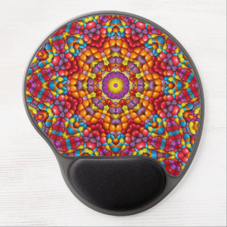 Yummy Vintage Kaleidoscope , Gel Mousepad