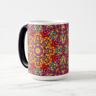 Yummy  Vintage Kaleidoscope  Morphing Mug