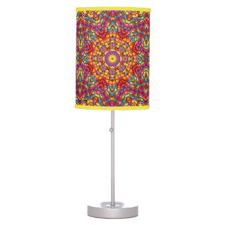 Yummy   Vintage Kaleidoscope  Table Lamp