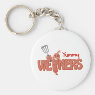 Yummy Weiners Keychain