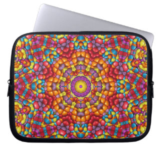 Yummy Yum Yum Colorful Neoprene Laptop Sleeves