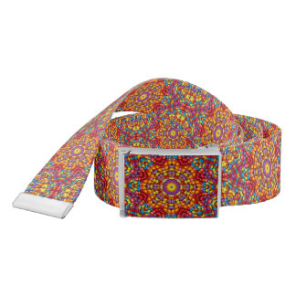 Yummy Yum Yum Kaleidoscope      Custom Belt